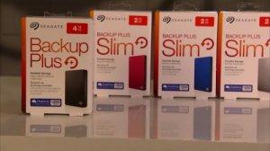 HDD 2Tb Seagate Backup Plus Slim Usb 3.0, 2.5 + 200G Icloud