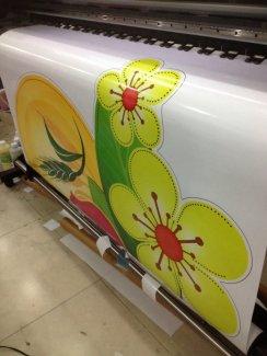 In decal hoa mai   hoa đào trang trí tết   Cắt Bế sẵn