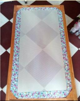 Giường lưới em bé ( khung gỗ)