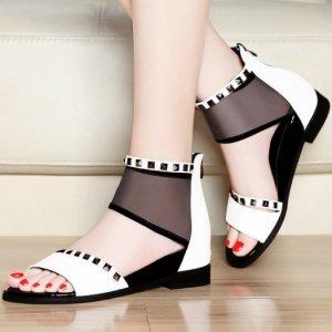 Giày Cao Cổ Phối Lưới KT082