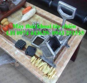Bán máy thái lốc xoáy khoai tây, thái con chì, thái khoai tây chiên, bếp chiên..