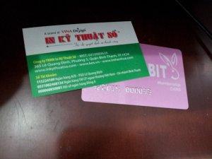 Đặt làm thẻ VIP cho KH | Thiết kế, giao hàng tận nơi