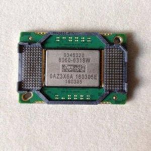 Thay chip dmd máy chiếu mitsubishi bị đóm liti như hạt mưa