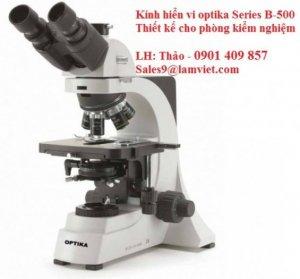 KÍNh Hiển Vi Optika Chuyên Dùng Cho Phòng Kiểm Nghiệm Series B-500