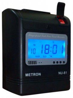 Máy Chấm Công vân tay kết hợp thẻ giấy METRON NU-81