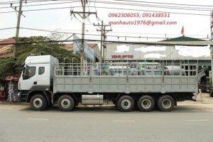 Xe Tải Thùng 5 Chân Chenglong (10x4) động cơ 340 Hp- 22.45 tấn  Xe tải 5 chân Chenglong động cơ 340 Hp là loại xe tải mới và có tải trọng tốt nhất trên thị trường xe tải Việt Nam hiện nay với tải trọng lên tới 22.450 Kg. Xe được trang bị động cơ Yuchai 340 HP bền bỉ, tiết kiệm cùng hộp số Fuller (Mỹ) 12 số có hệ thống trợ lực và đồng tốc giúp xe vận hành trơn tru và hiệu quảw