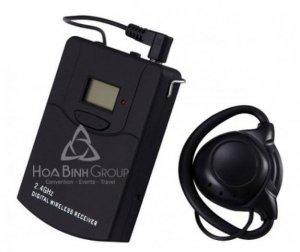 Cho thuê thiết bị dịch di động kỹ thuật số không dây, thiết bị thông dịch Hướng dẫn viên du lịch