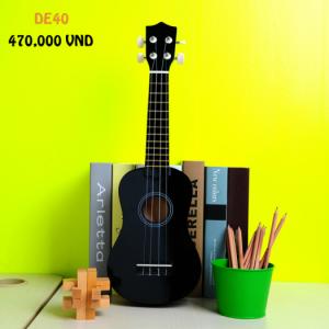 Đàn ukulele màu đen