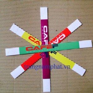 Mầu vòng: vòng tay giấy dai