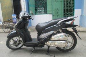 Xe Shark 125cc xe xe màu đen phiên bản 2011...