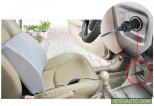 Đệm lưng massge đa chức năng ô tô