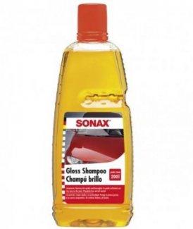 Shampoo đậm đặc SONAX Gloss Shampoo Concentrate rửa xe bóng loáng (1:200) 314300 1lít ( Giá 150.000vnd)