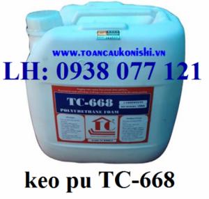 Keo pu 668, pu SL 668, pu foam 668, pu TC 668 trương nở chống thấm