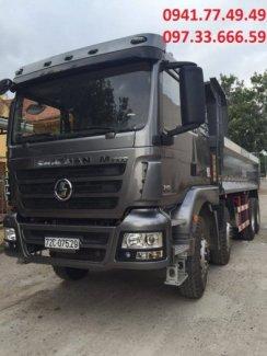 Cần bán xe Shacman với trọng lượng bản thân: 12.870 (kg), tải trọng cho phép TGGT: 17.000 (kg)