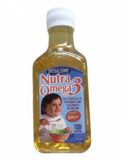 Dầu ăn dinh dưỡng Cá Hồi cho trẻ với DHA EPA Nutra Omega 3 240ml