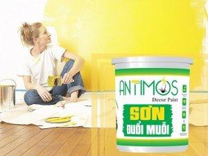 Antimos - Sơn đuổi muỗi - Từ thảo dược