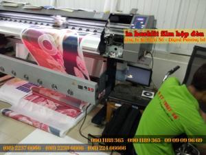 In backlit film mực dầu khổ lớn tại In Kỹ Thuật Số - chất liệu backlit film được sử dụng được nhập chính hãng, in ấn với mực tốt, giúp mang đến thành phẩm chất lượng cho bạn