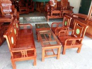 Bàn ghế gỗ tự nhiên 2.9 triệu