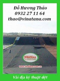 Vải địa kỹ thuật dùng trong công trình xây dựng cầu đường, giao thông