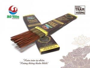 Nhang trầm hương - Sản xuất từ nguồn trầm hương được khai thác tại vùng núi Tiên Phước - Quảng Nam