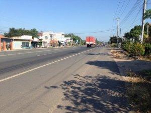 đường vào dự án đô thị Phước Lộc Residence