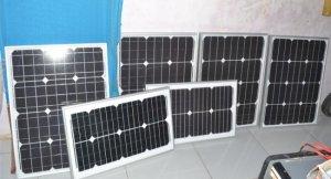 Tấm pin năng lượng mặt trời 15w