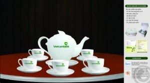 In ấn bộ ấm trà tại Đà Nẵng, bộ ly tách ấm chén Đà Nẵng