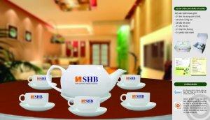 In ấn bộ ấm trà tại Bình Định, bộ ly tách in ấn Bình Định, in ấn gốm sứ Bình Định