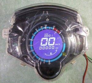 Đồng hồ điện tử LCD EXCITER 135cc 2014
