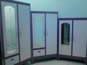 Tủ màu hồng tím, 1m2,1m4,1m6,1m8 2 cửa