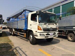Xe tải hino 3 chân 16 tấn thùng dài 7.8m 9.4M thùng kín thùng mui bạt giá rẻ