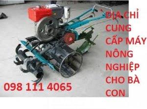 Mua máy làm đất đa năng dàn xới trước dùng động cơ D8