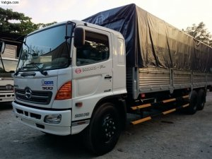 Xe tải Hino 16 tấn 3 chân thùng kín thùng Mui bạt Giao Xe Toàn Quốc