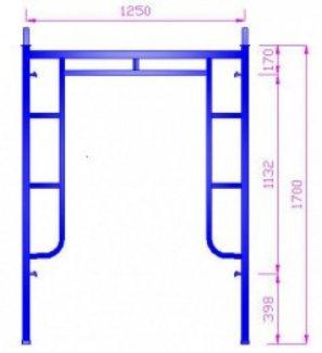 Giàn giáo xây dựng 1.7m nhiều kích cỡ, đẹp, sử dụng tiện lợi cho các công trình xây dựng