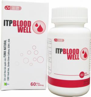 ITP Bloodwell dùng cho người giảm tiểu cầu