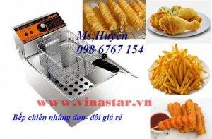 Bán trọn bộ bếp chiên khoai tây lốc xoáy giá rẻ nhất tại Hà Nội