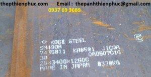 Thép tấm lò hơi SM 490, SS490