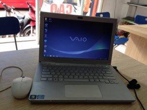 Bán laptop Sony SVT 13 coi7-3517u/ram 4g/ ổ 320g/màn 13.3 inch/vỏ nhôm