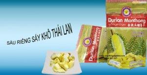 Sầu Riêng Sấy Khô Monthong Thái Lan
