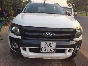 Bán xe Ford Ranger Wiltrack sx 2013 màu trắng