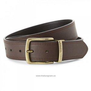 Nhãn hiệu:  TOMMY HILFIGER Brown & Black Reversible Faux Leather Belt Size: 34 | 36 | 38 Mã số: TH022 Màu: Nâu | Đen (2 mặt da, cắt ngắn được) Xuất xứ: Hàng hiệu ship Mỹ, mới 100% (new with Tag)