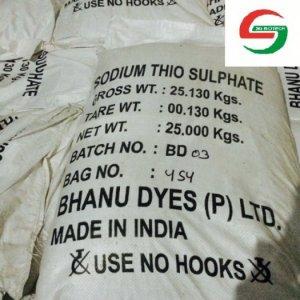 Cung cấp Thiosulphate Ấn Độ, protectol - glutaraldehyte 50% dùng trong thủy sản