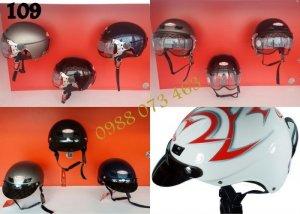 Nón Bảo Hiểm Andes (Bảo hành trọn đời) mũ bảo hiểm andes 109