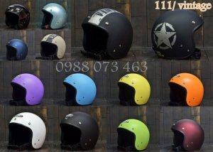 Nón Bảo Hiểm Andes (Bảo hành trọn đời) mũ bảo hiểm andes 111