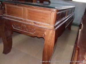 Bộ bàn ghế Tần Thủy Hoàng 7 món kích thước lớn