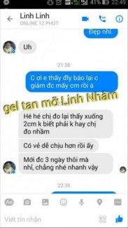 Gel tan mỡ Linh Nhâm