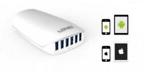 Sạc đa năng 6 cổng USBLDNIO A6573 5.4A