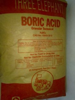Bán Axit Boric - H3BO3