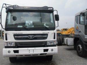 Xe ben Daewoo 10 khối, tải trọng 15 tấn, chất lượng bền bỉ, giao ngay!