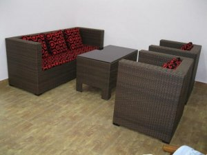 Bộ bàn ghế sô fa giá rẻ cho phòng lạnh quán càfe